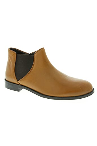 ubik chaussures femme de couleur marron