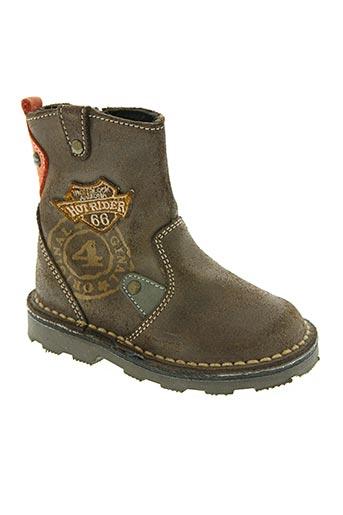 bopy chaussures garçon de couleur marron