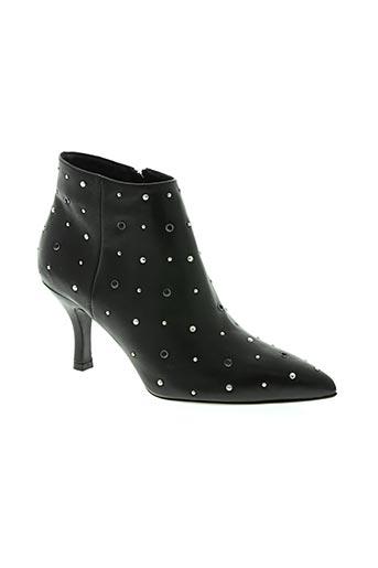 janet & janet chaussures femme de couleur noir