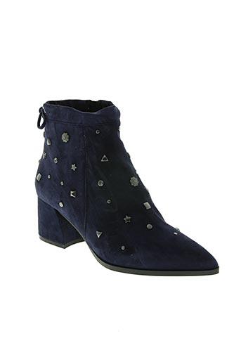 bruno premi chaussures femme de couleur bleu