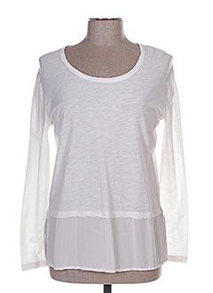 T-shirt manches longues blanc ESE O ESE pour femme