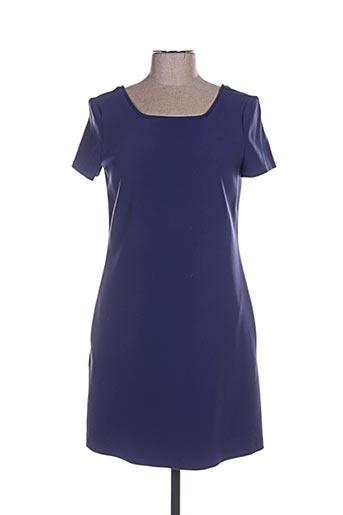 Robe courte bleu TARA JARMON pour femme
