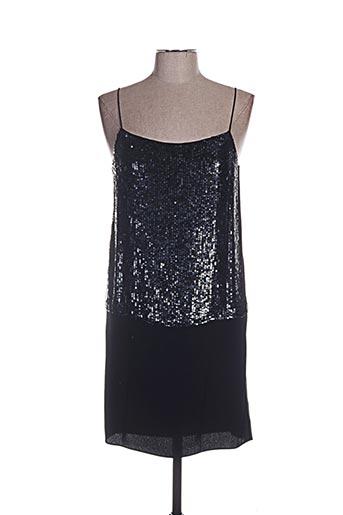 Robe mi-longue noir TARA JARMON pour femme
