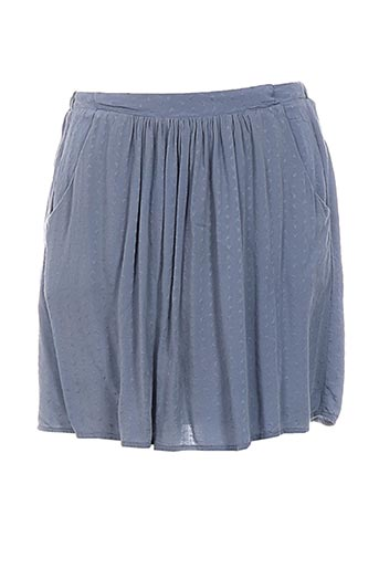 Mini-jupe gris ESE O ESE pour femme