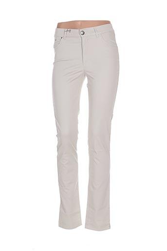 dismero pantalons femme de couleur gris