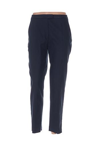 Pantalon chic bleu CACHAREL pour femme