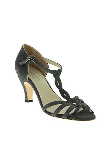 Sandales/Nu pieds gris ANNIEL pour femme