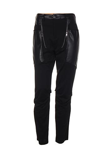 nu jeans pantalons femme de couleur noir