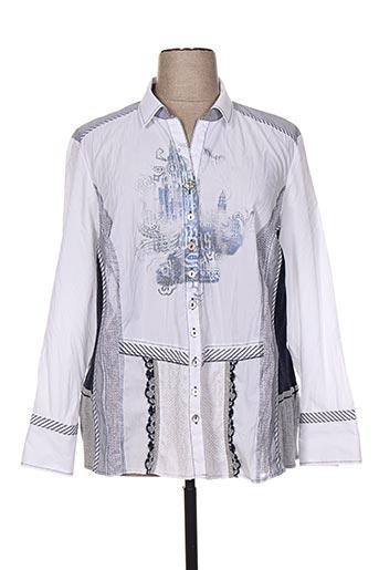 just white chemises femme de couleur blanc