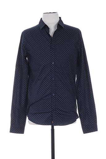 c6e1c2d230d5c teddy smith chemises garçon de couleur bleu. TEDDY SMITH. Chemise droite manches  longues ...