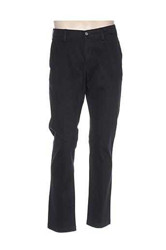 gant pantalons homme de couleur bleu