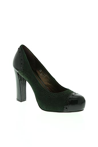 tosca blu chaussures femme de couleur vert