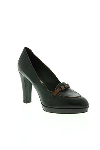 alberto fermani chaussures femme de couleur vert