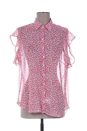 guapa collection chemises femme de couleur rouge