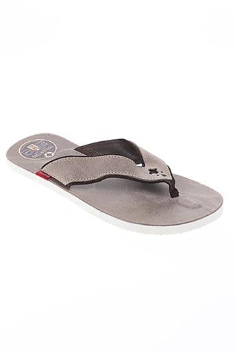 couleur tong chaussures homme de couleur beige