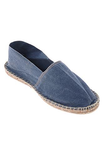 art of soule chaussures homme de couleur bleu