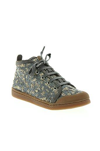 10 is chaussures fille de couleur gris