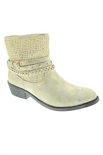 raxmax chaussures femme de couleur jaune