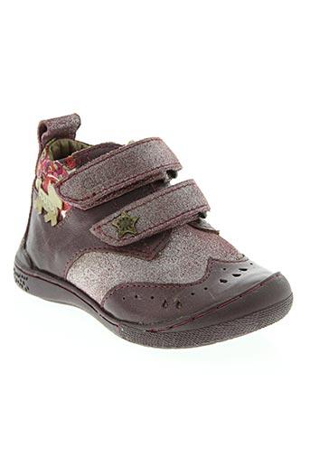chipie chaussures fille de couleur violet