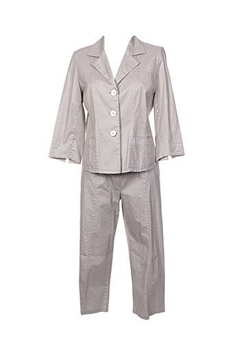 gevana ensembles femme de couleur gris