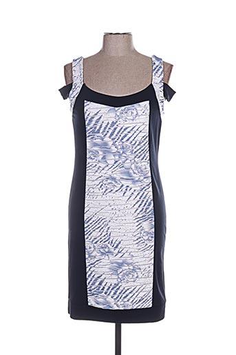 Robe courte bleu ANNA MUR pour femme