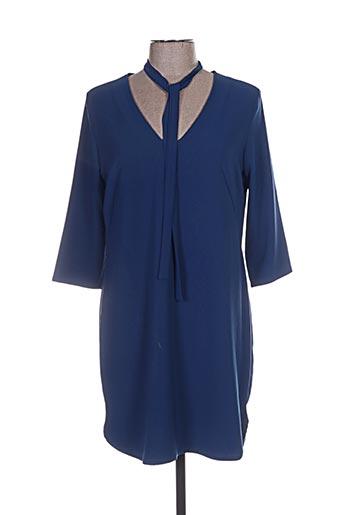 Robe courte bleu GENUINE pour femme