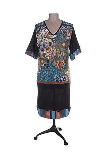 Robe courte marron ANNA MUR pour femme