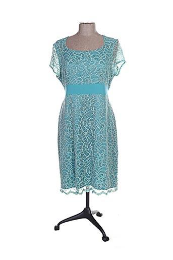 Robe mi-longue bleu GENUINE pour femme