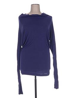 Chemise de nuit bleu LINGADORE pour femme