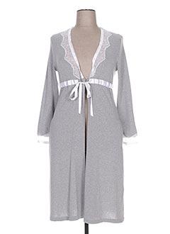 Robe de chambre gris BISBIGLI pour femme