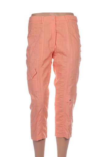 guy dubouis pantacourts femme de couleur orange