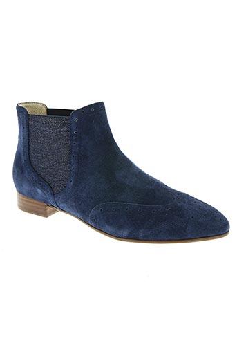 jb martin chaussures femme de couleur bleu