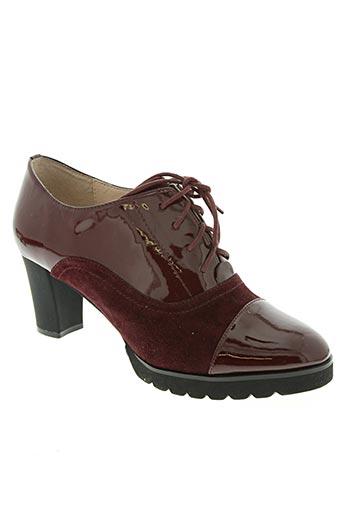 sacha london chaussures femme de couleur rouge