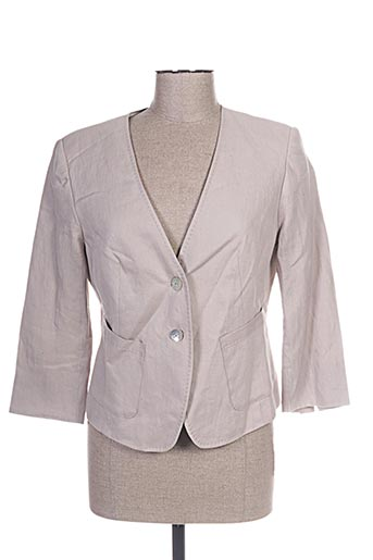 rofa fashion group vestes femme de couleur beige