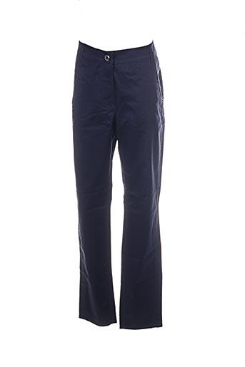 Pantalon casual bleu BETTY BARCLAY pour femme