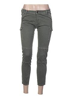 Pantalon 7/8 vert LEE COOPER pour femme