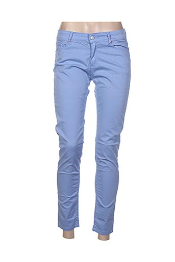 Pantalon 7/8 bleu CHEFDEVILLE pour femme