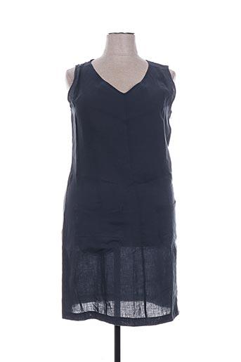 Robe mi-longue bleu DRESS ADDICT pour femme