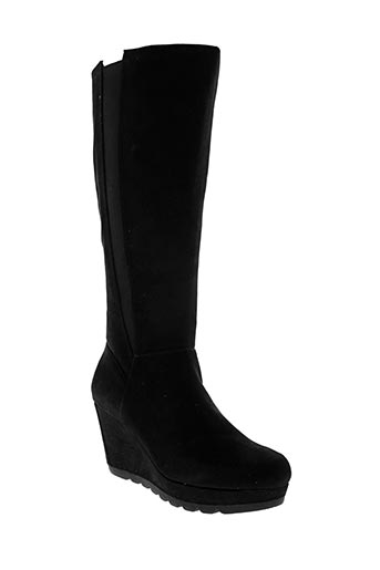 s.oliver chaussures femme de couleur noir