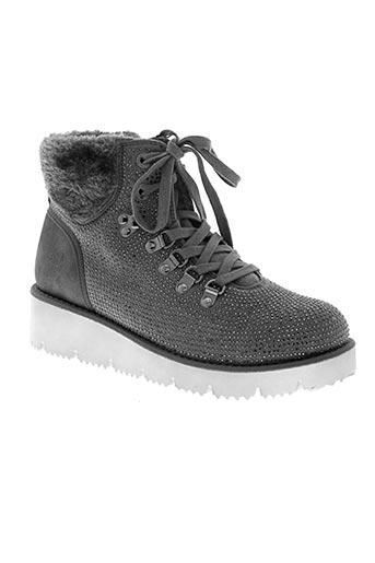 s.oliver chaussures femme de couleur gris