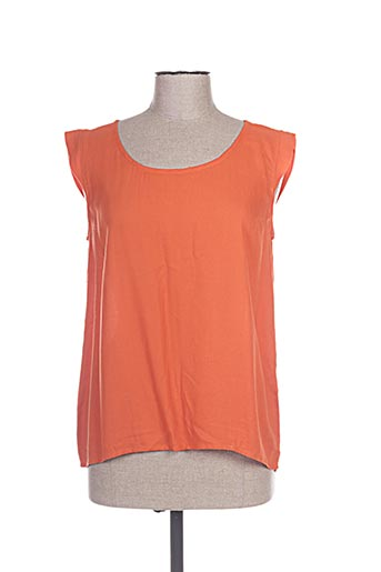 princesse nomade chemises femme de couleur orange