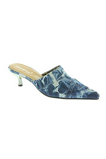 deborah lee chaussures femme de couleur bleu