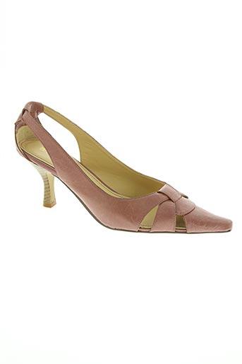 balmain chaussures femme de couleur rose