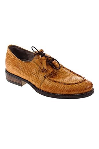 dkode chaussures homme de couleur jaune
