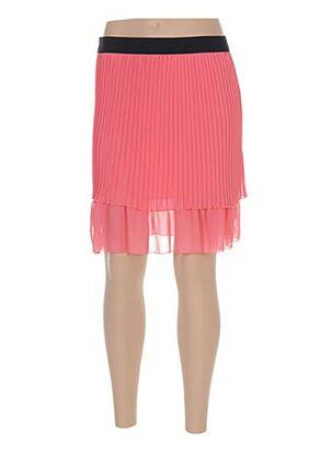 Jupe courte rose ACTUELLE pour femme