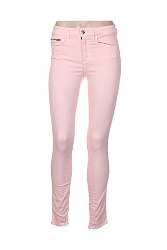 Jeans skinny rose COUTURIST pour femme