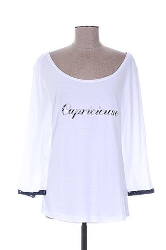breizh angel t-shirts femme de couleur blanc