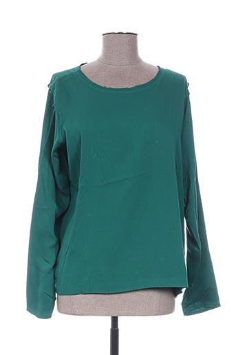 karma koma chemises femme de couleur vert