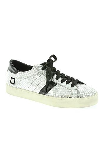 date chaussures femme de couleur gris