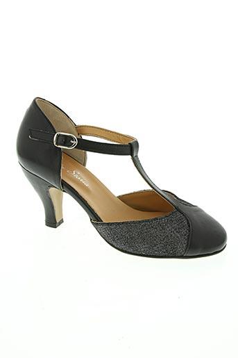 bella storia chaussures femme de couleur noir
